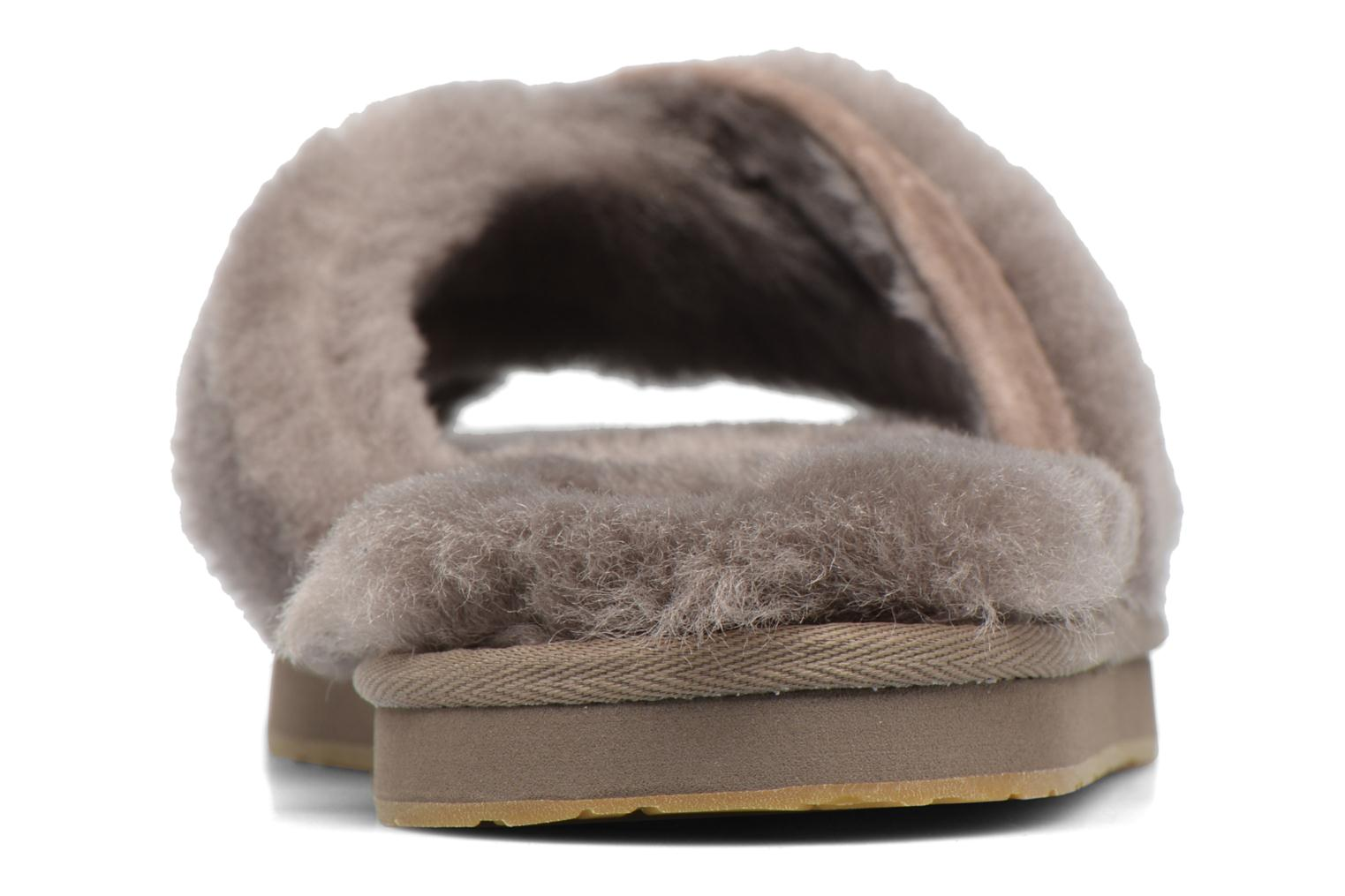 Chaussons UGG Abela Beige vue droite