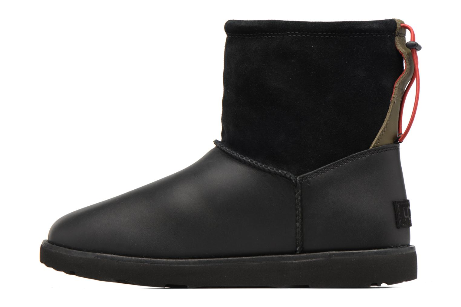 Boots & wellies UGG Classic Toggle Waterproof Black front view