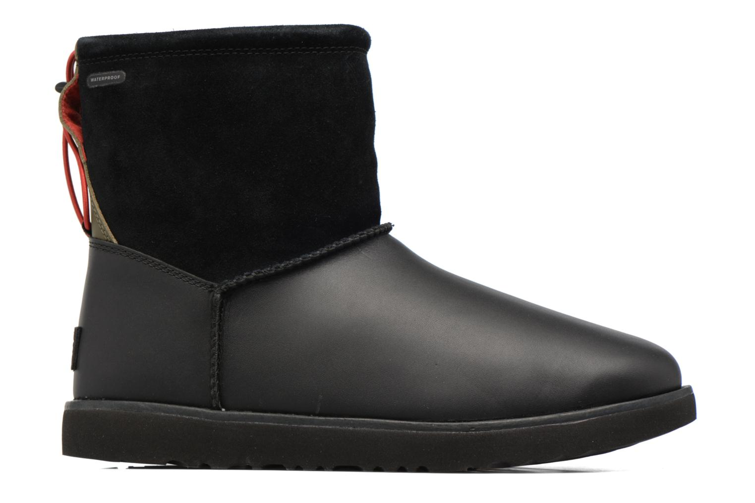 Boots & wellies UGG Classic Toggle Waterproof Black back view