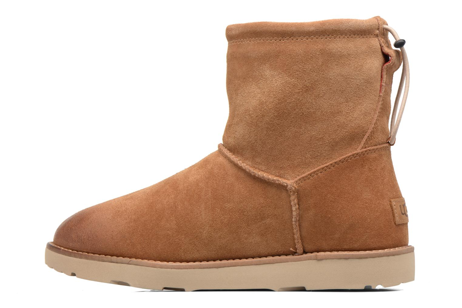 Bottines et boots UGG Classic Toggle Waterproof 2 Marron vue face