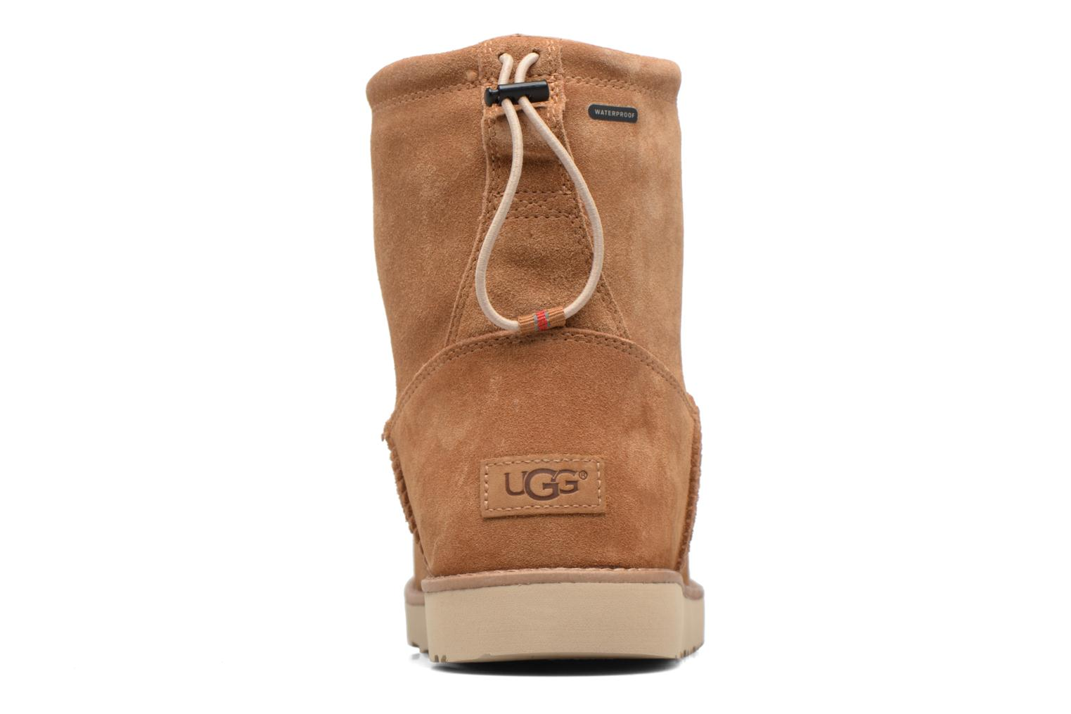 Bottines et boots UGG Classic Toggle Waterproof 2 Marron vue droite
