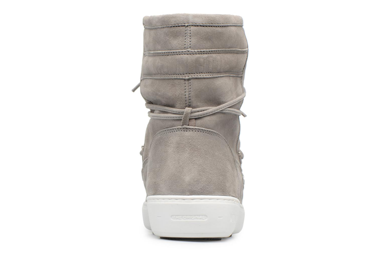 Sport shoes Moon Boot Pulse mid Grey view from the right