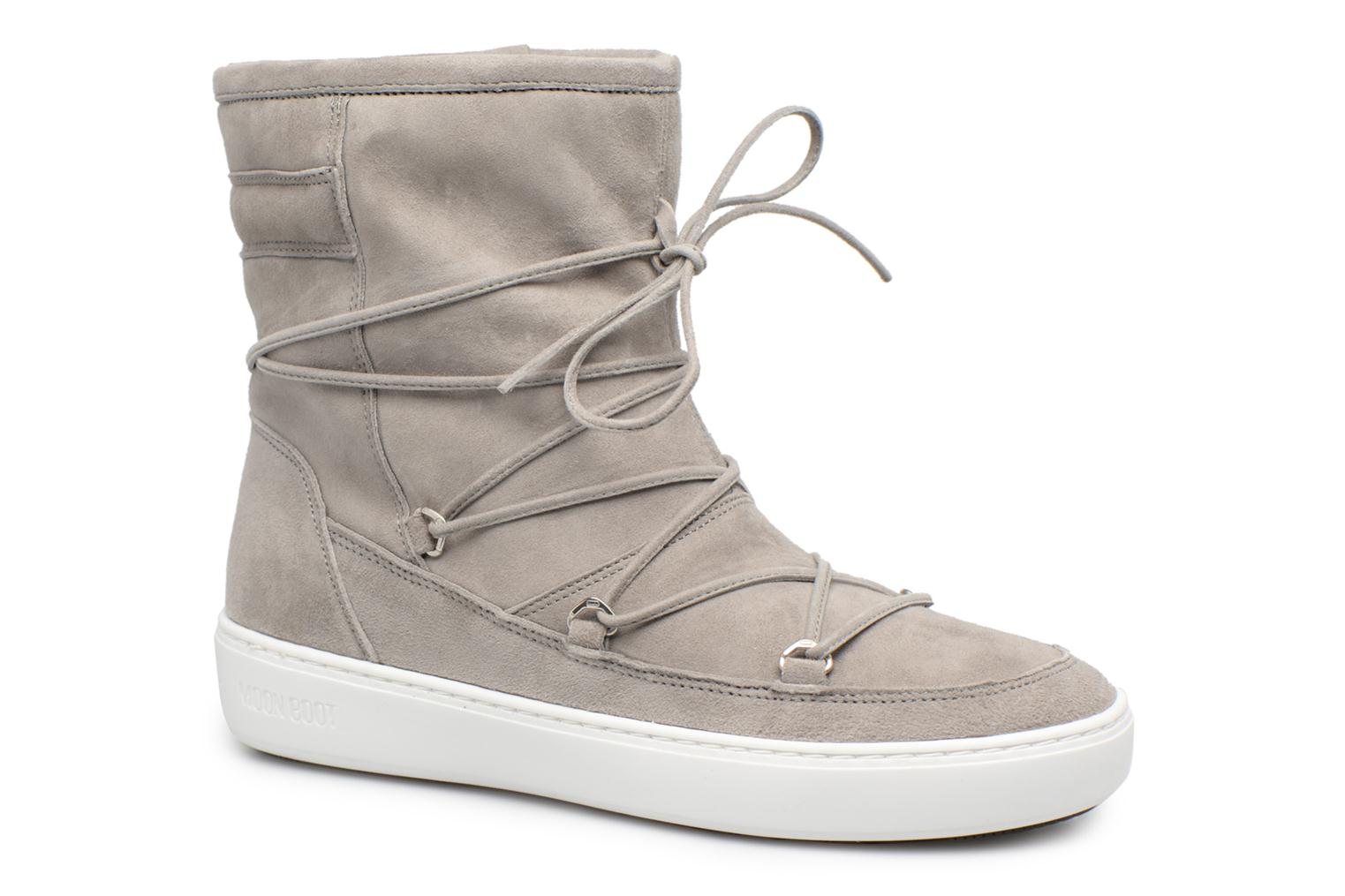 Sport shoes Moon Boot Pulse mid Grey detailed view/ Pair view