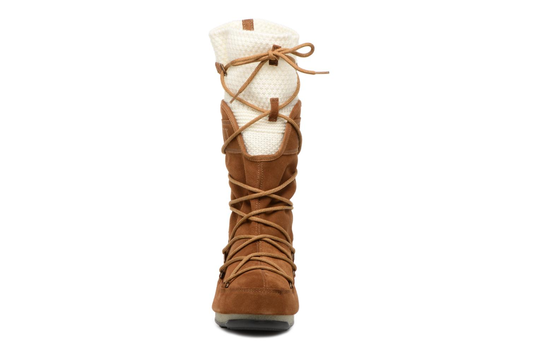 Sport shoes Moon Boot anversa wool Brown model view