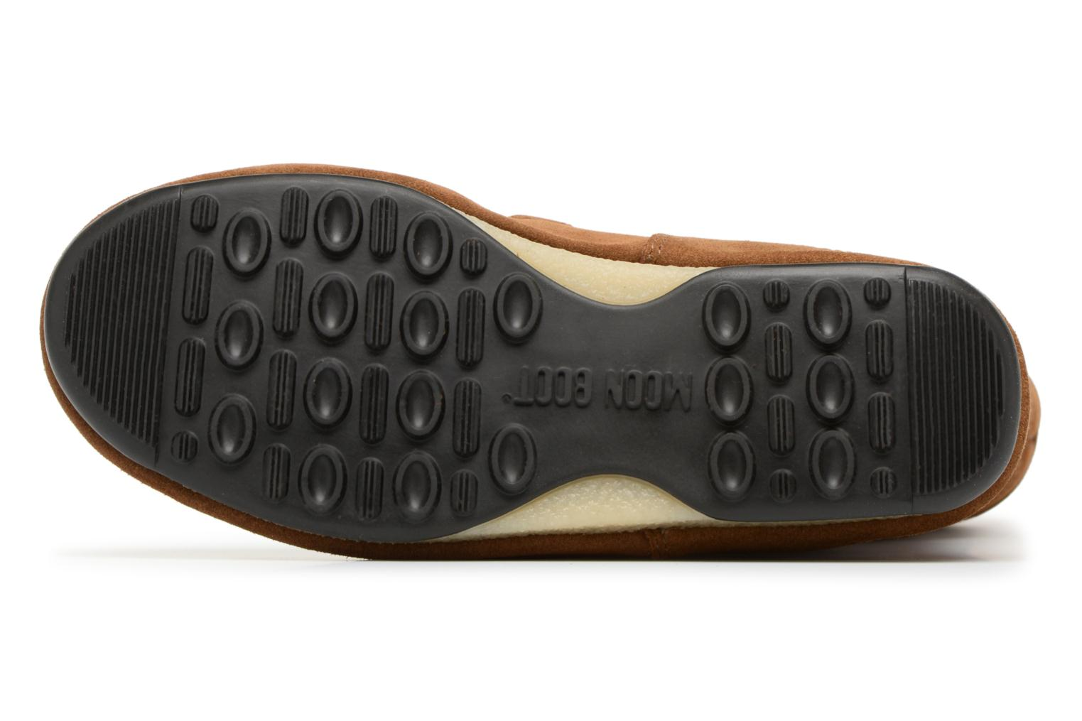 Sport shoes Moon Boot anversa wool Brown view from above