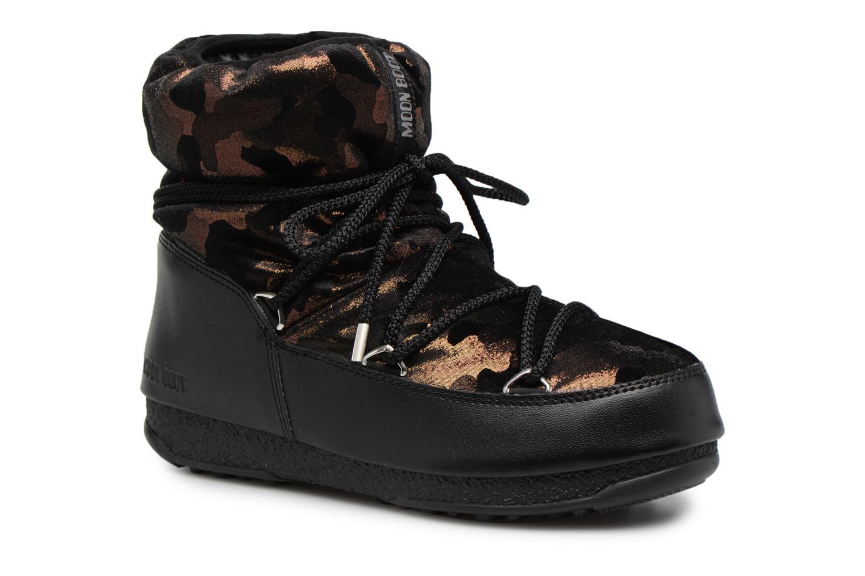 Moon Boot low camu (Or et bronze) - Chaussures de sport chez Sarenza (311347)