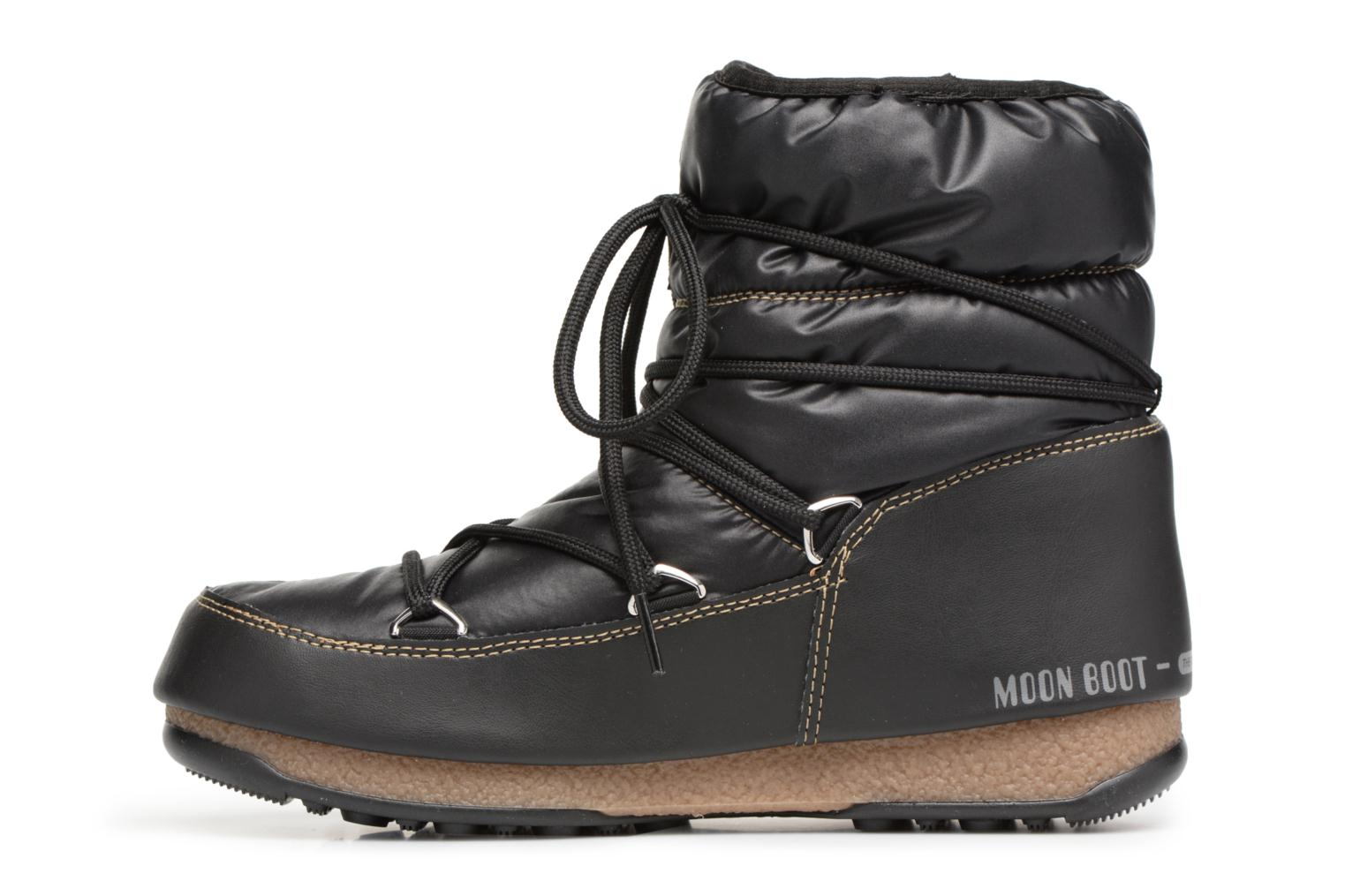 Chaussures de sport Moon Boot Low Nylon Noir vue face