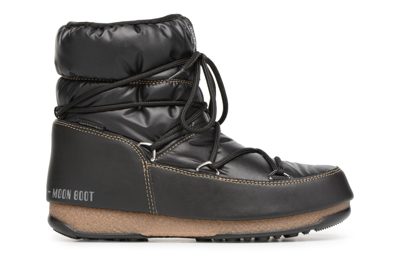 Sport shoes Moon Boot Low Nylon Black back view