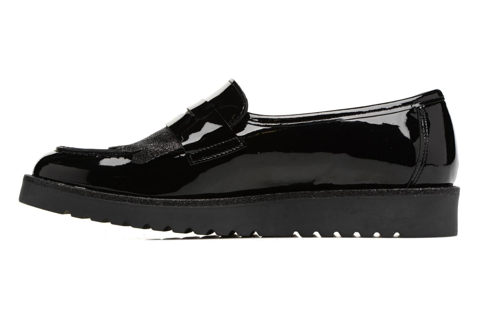Loafers Georgia Rose Gerald Black front view
