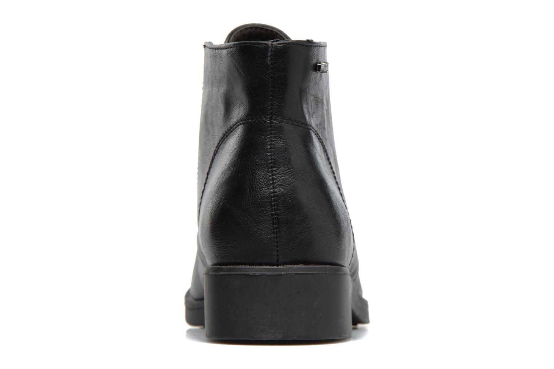Zapatos con cordones MTNG Fantasia Negro vista lateral derecha