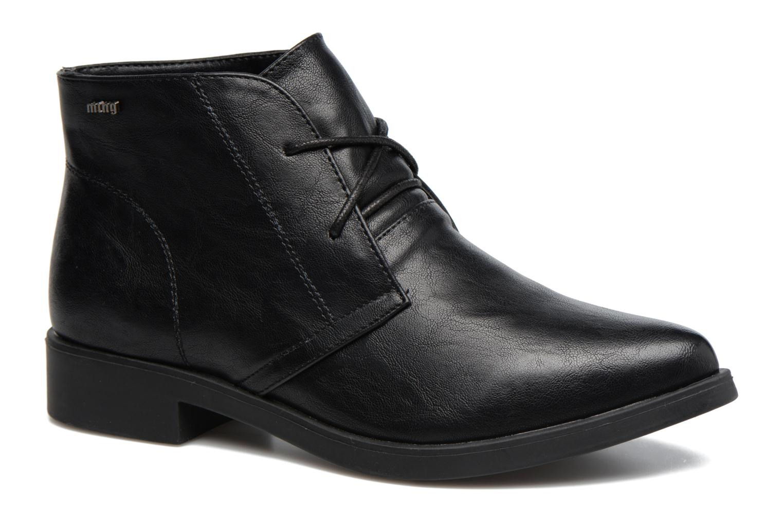 Zapatos con cordones MTNG Fantasia Negro vista de detalle / par