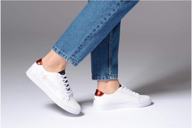 Sneakers Tommy Hilfiger TOMMY STAR METALLIC SNEAKER Wit onder