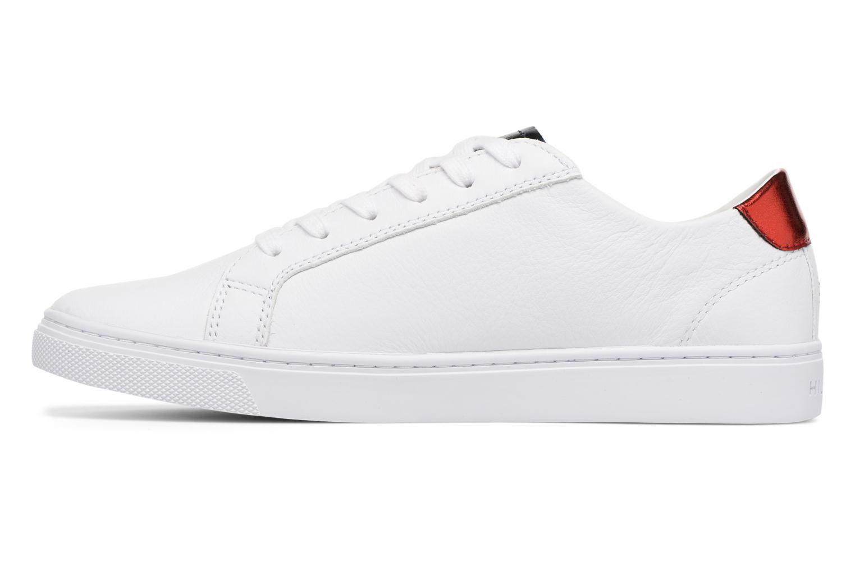 Sneakers Tommy Hilfiger TOMMY STAR METALLIC SNEAKER Wit voorkant