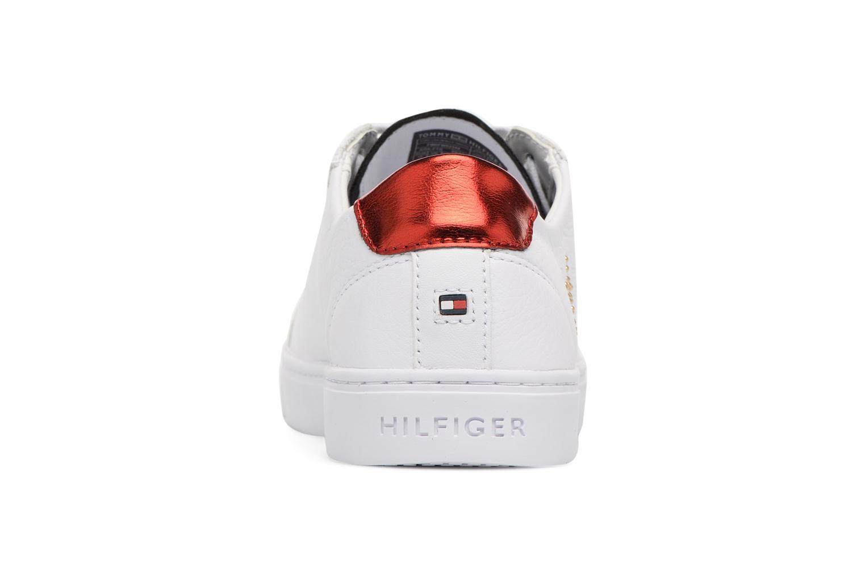 Sneakers Tommy Hilfiger TOMMY STAR METALLIC SNEAKER Wit rechts