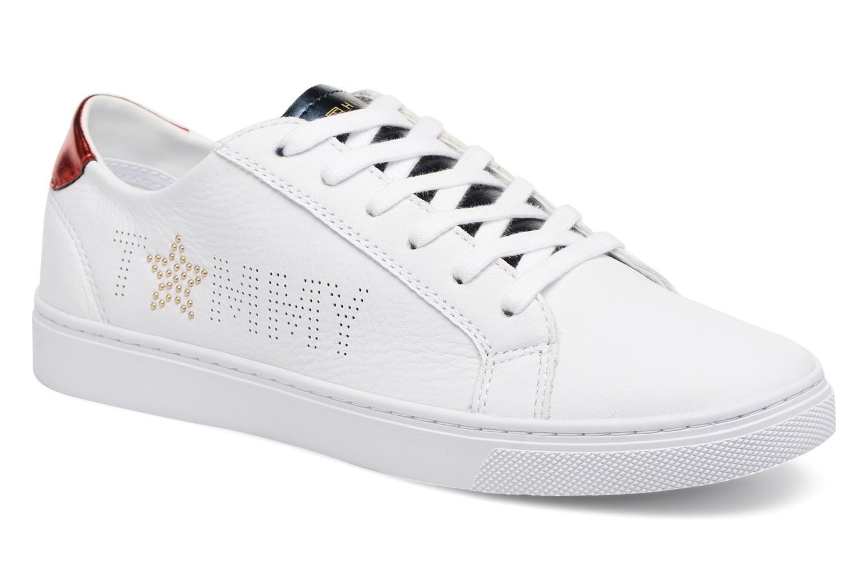 Descuento de la marca Tommy Hilfiger TOMMY STAR METALLIC SNEAKER (Blanco) - Deportivas en Más cómodo