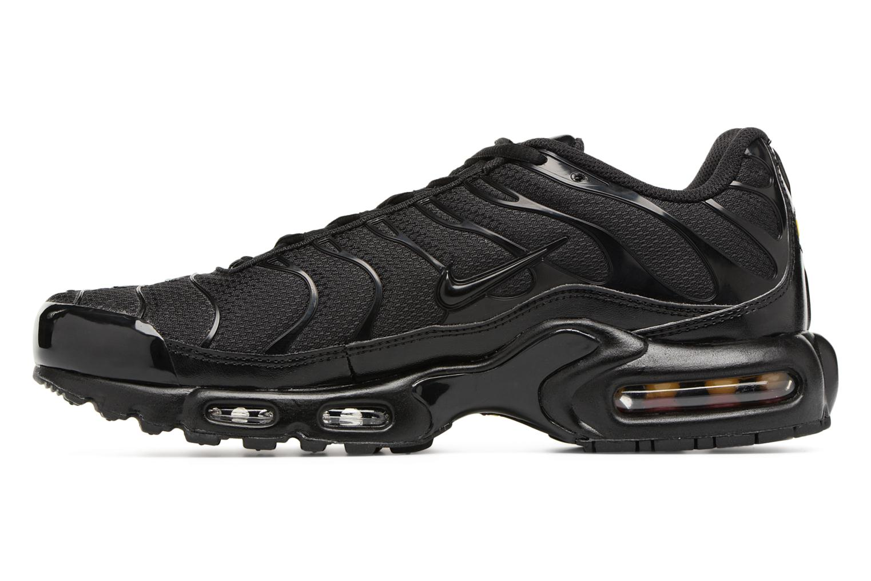 Sneaker Nike Air Max Plus schwarz ansicht von vorne