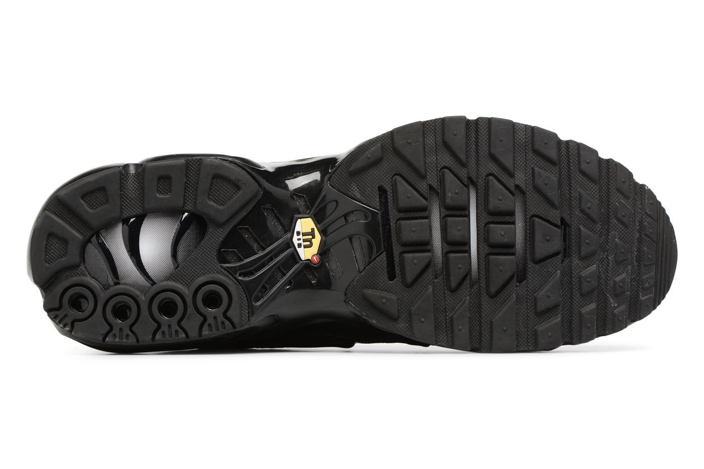 Sneaker Nike Air Max Plus schwarz ansicht von oben