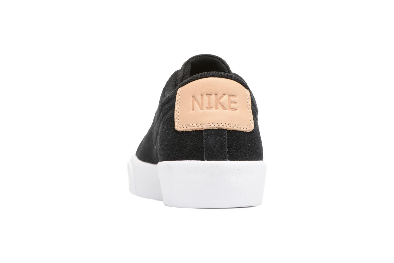 Baskets Nike Blazer Studio Low Noir vue droite