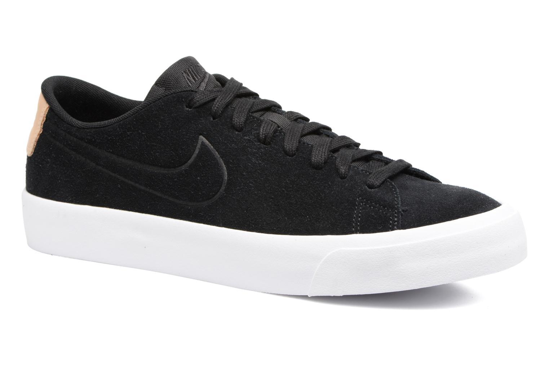 Baskets Nike Blazer Studio Low Noir vue détail/paire