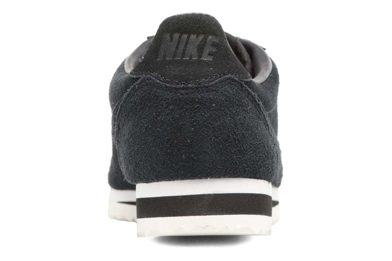 Deportivas Nike Classic Cortez Se Negro vista lateral derecha