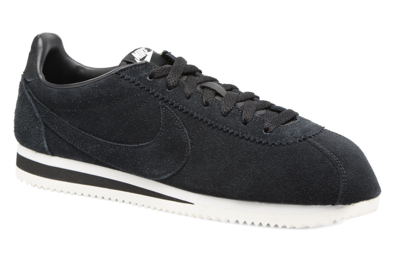 Deportivas Nike Classic Cortez Se Negro vista de detalle / par