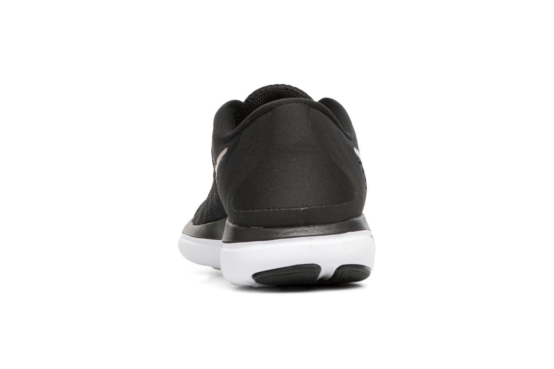 Chaussures de sport Nike Wmns Nike Flex 2017 Rn Noir vue droite