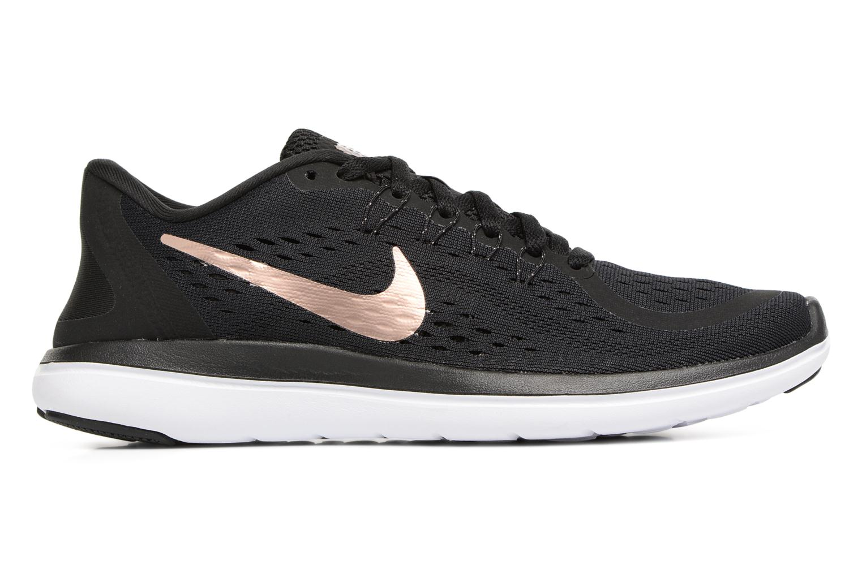 Chaussures de sport Nike Wmns Nike Flex 2017 Rn Noir vue derrière