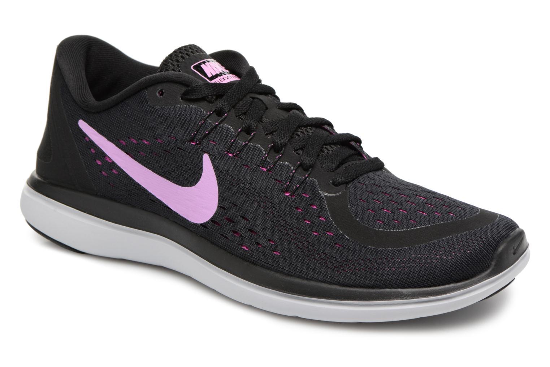 Grandes descuentos últimos zapatos Nike Wmns Nike Flex 2017 Rn (Negro) - Zapatillas de deporte Descuento