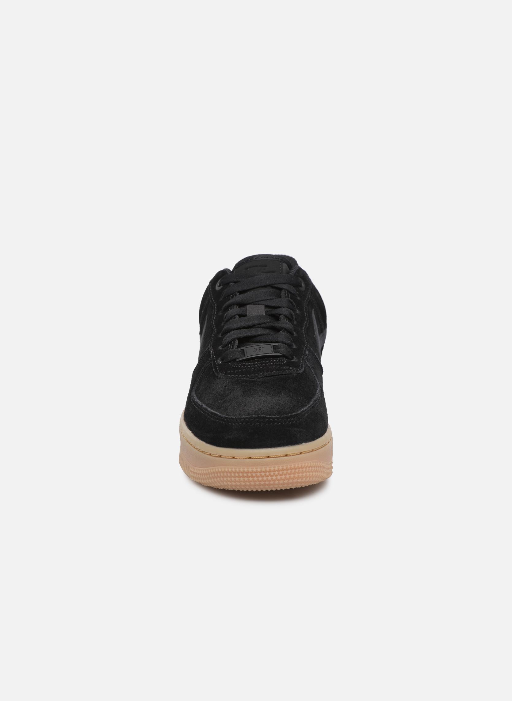 Baskets Nike Wmns Air Force 1 '07 Se Noir vue portées chaussures