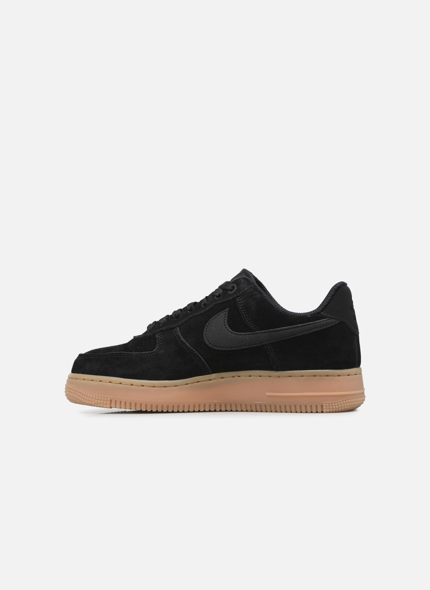 Baskets Nike Wmns Air Force 1 '07 Se Noir vue face