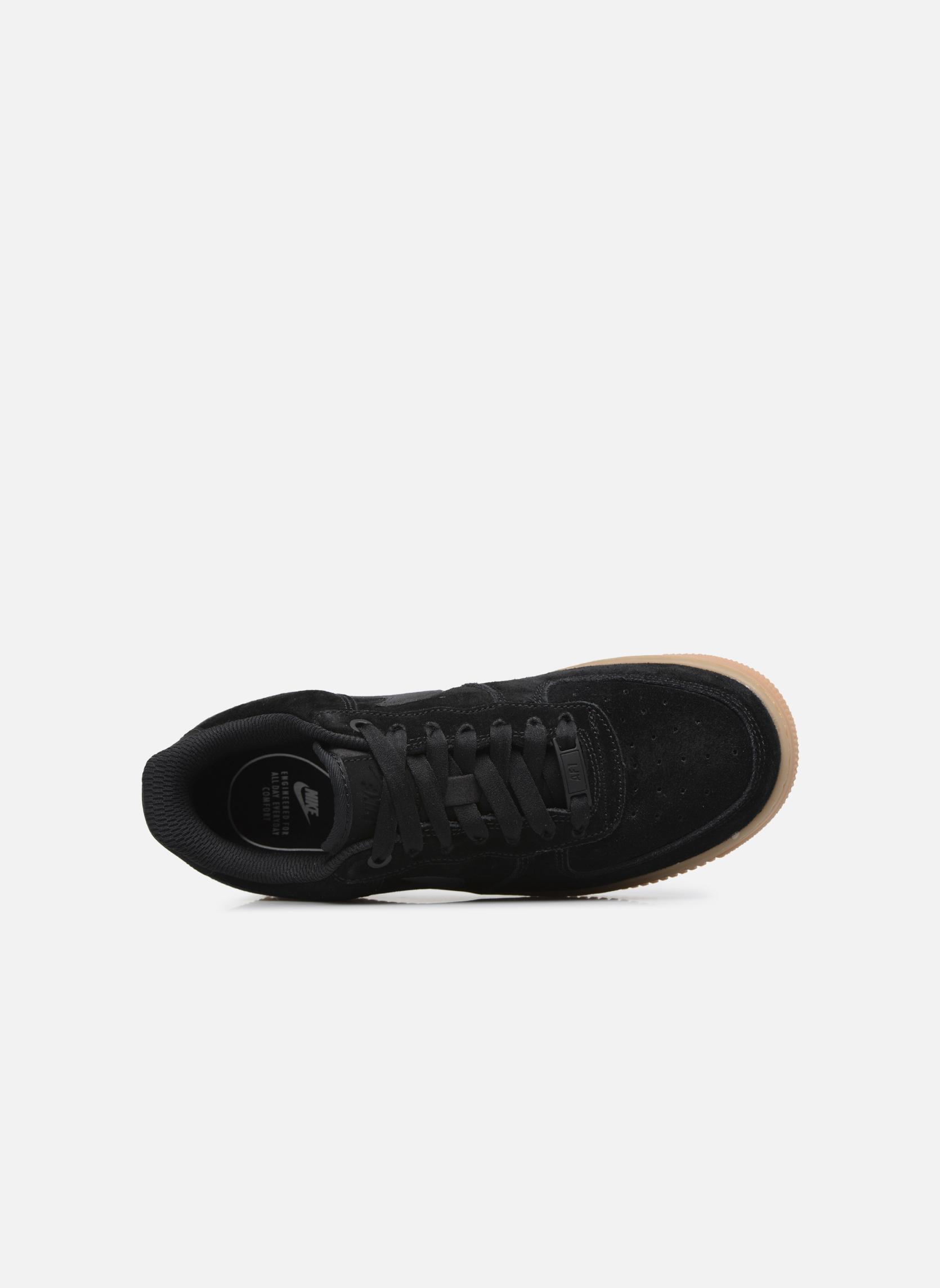 Baskets Nike Wmns Air Force 1 '07 Se Noir vue gauche