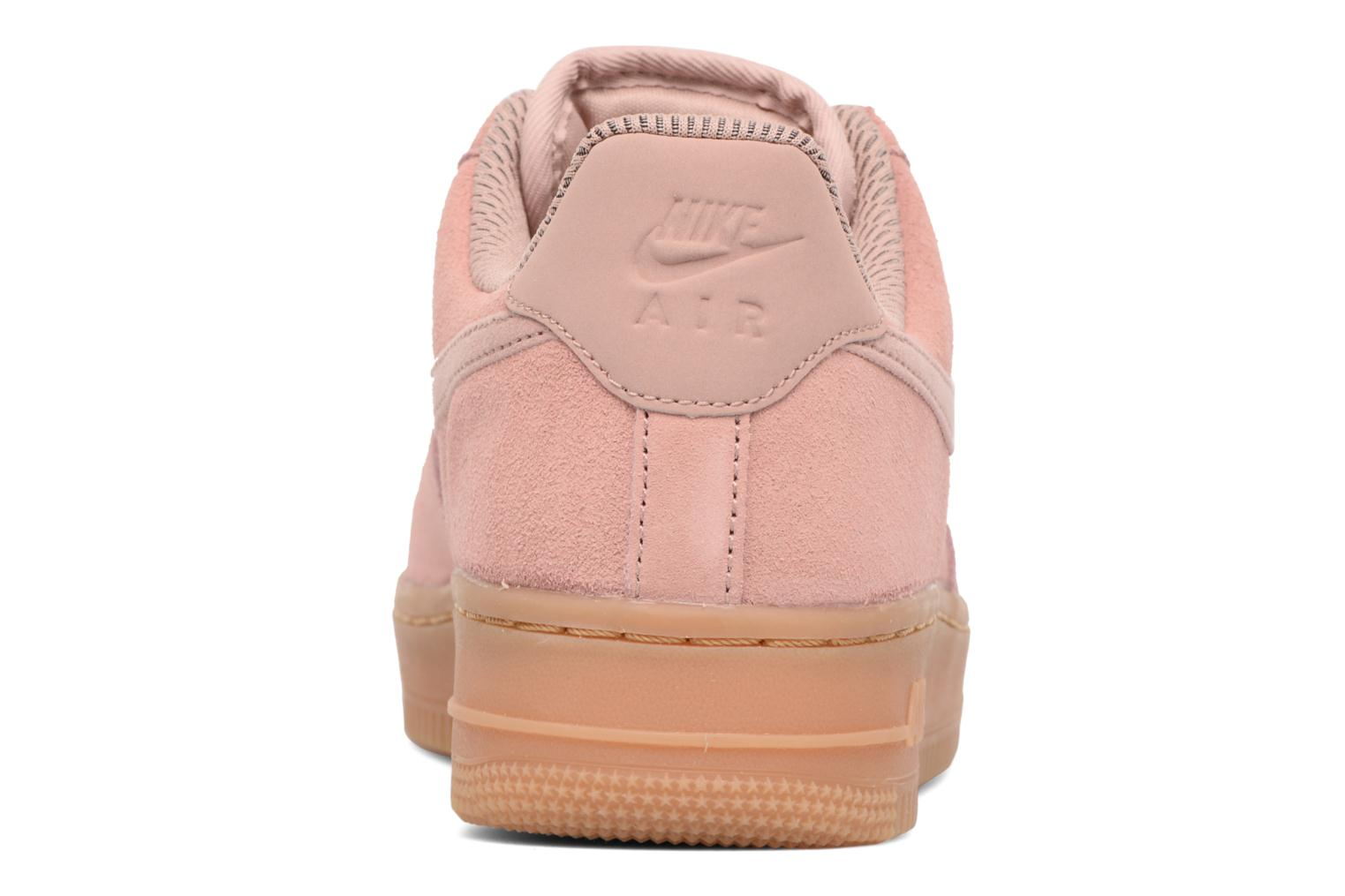 Baskets Nike Wmns Air Force 1 '07 Se Rose vue droite