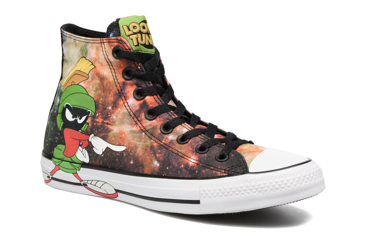 Marques Chaussure femme Converse femme Chuck Taylor All Star Looney Tunes Hi W Black/green/white