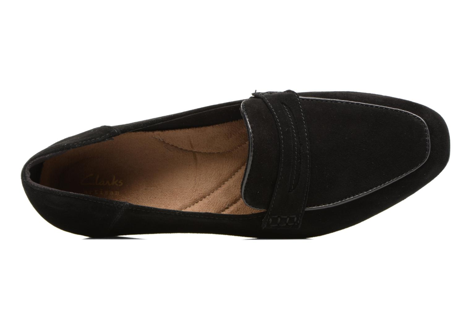 Mocassins Clarks Keesha Cora Zwart links
