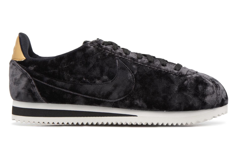 Baskets Nike Cortez Velvet Noir vue derrière