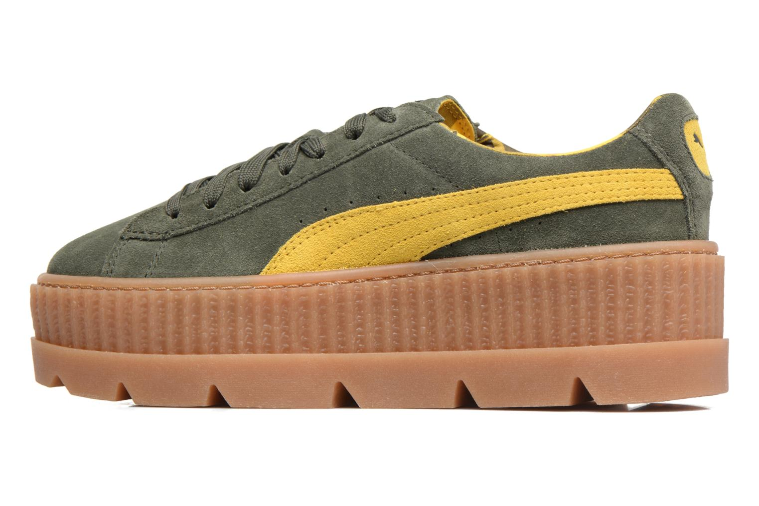 Sneakers Puma Fenty Wn Cleated Creeper Groen voorkant