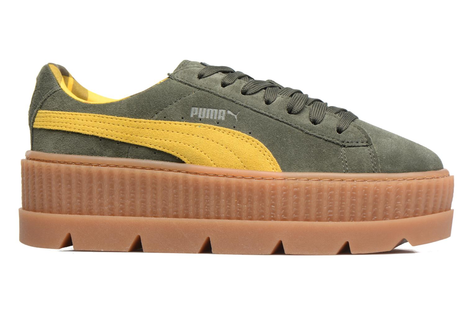 Sneakers Puma Fenty Wn Cleated Creeper Groen achterkant