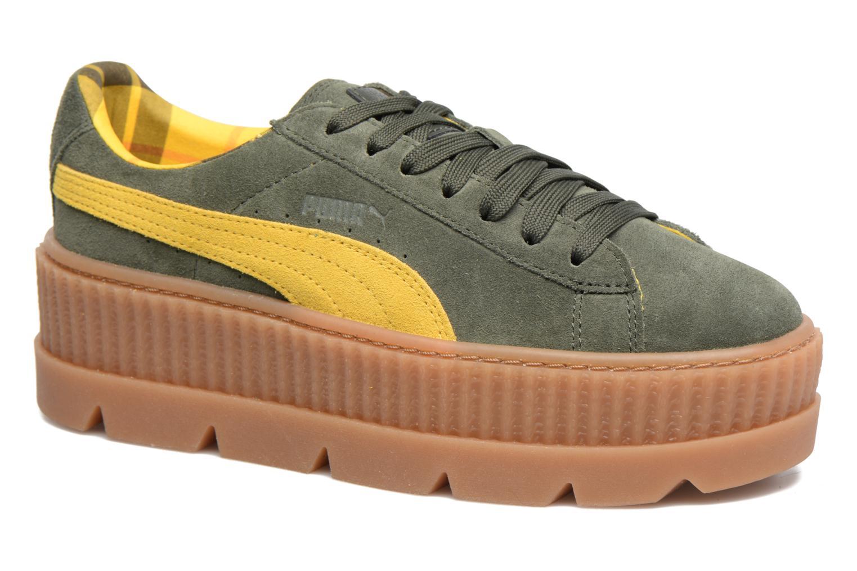 Sneakers Puma Fenty Wn Cleated Creeper Groen detail