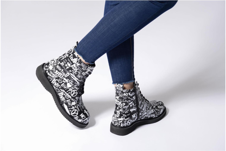 Bottines et boots Aldo CADIRWEN Noir vue bas / vue portée sac