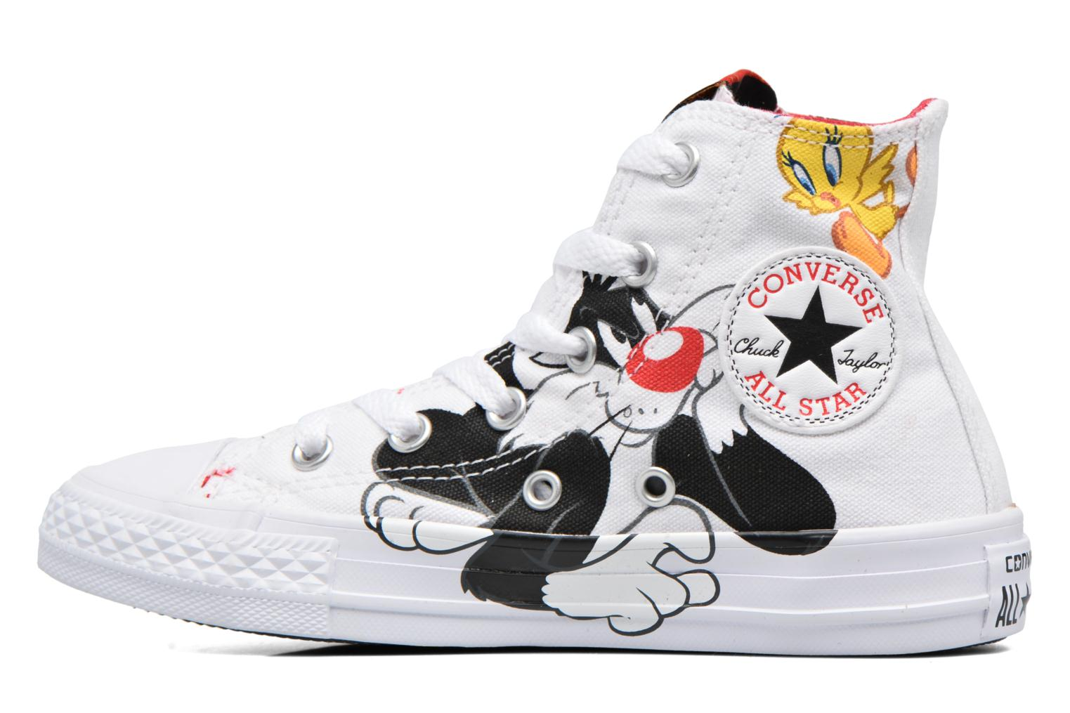 Chuck Taylor All Star Hi Looney Tunes White BlackTweety Yellow