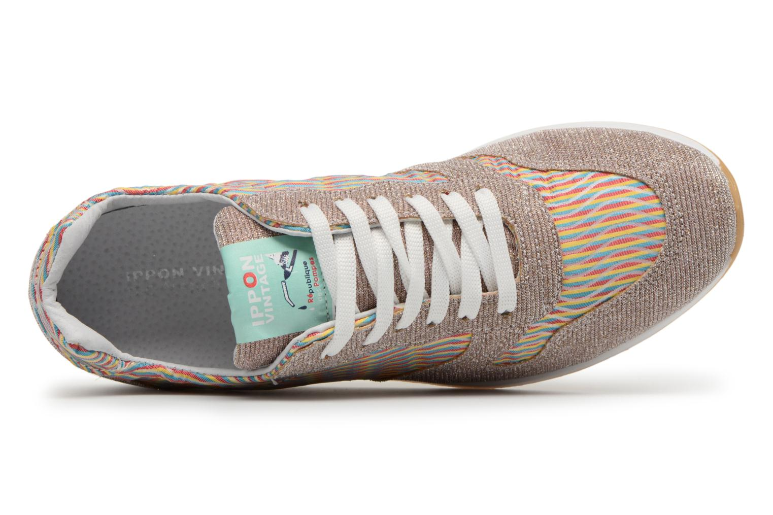 Trainers Ippon Vintage Run wave Multicolor view from the left