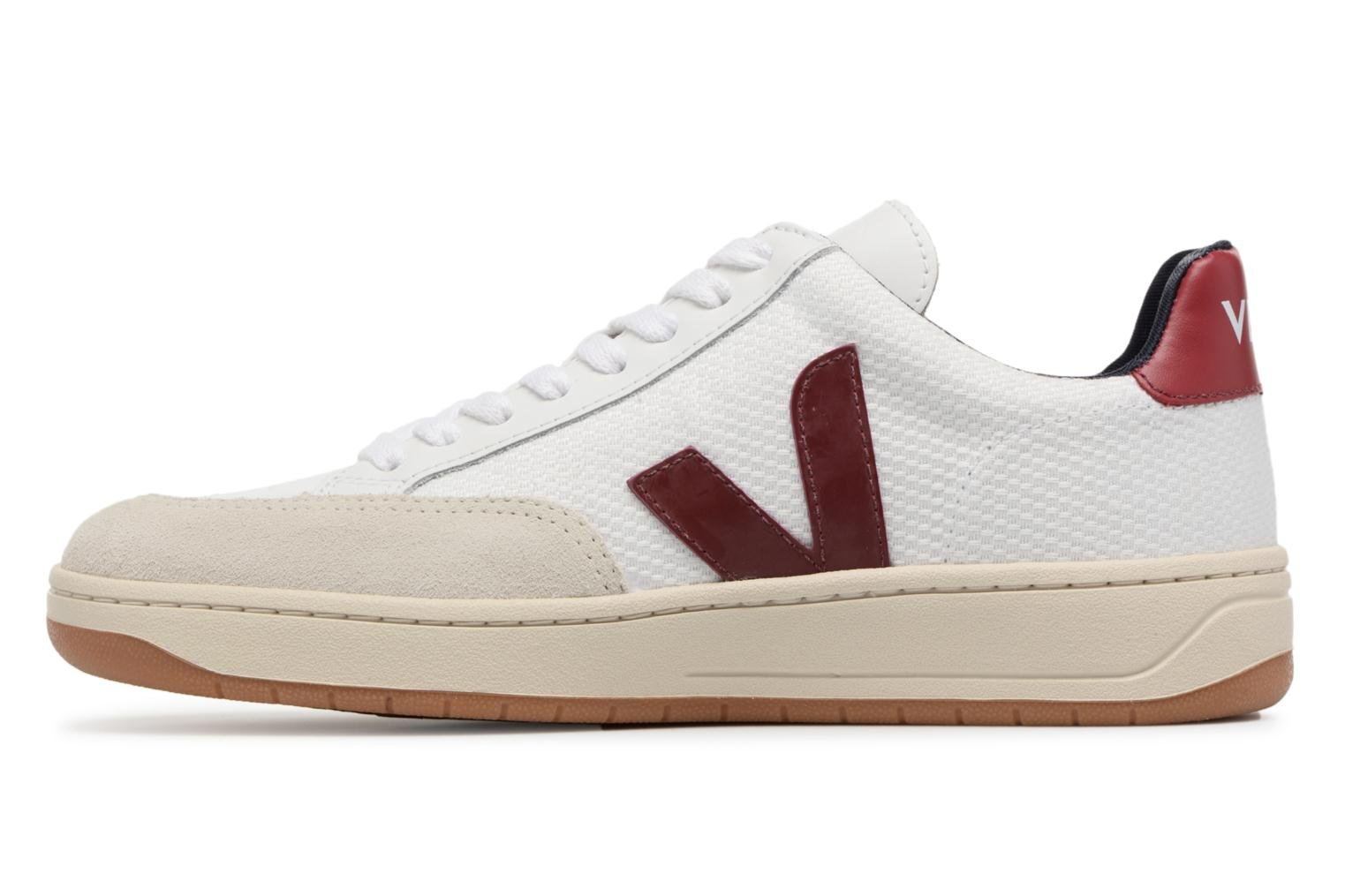 Trainers Veja V-12 W Beige front view