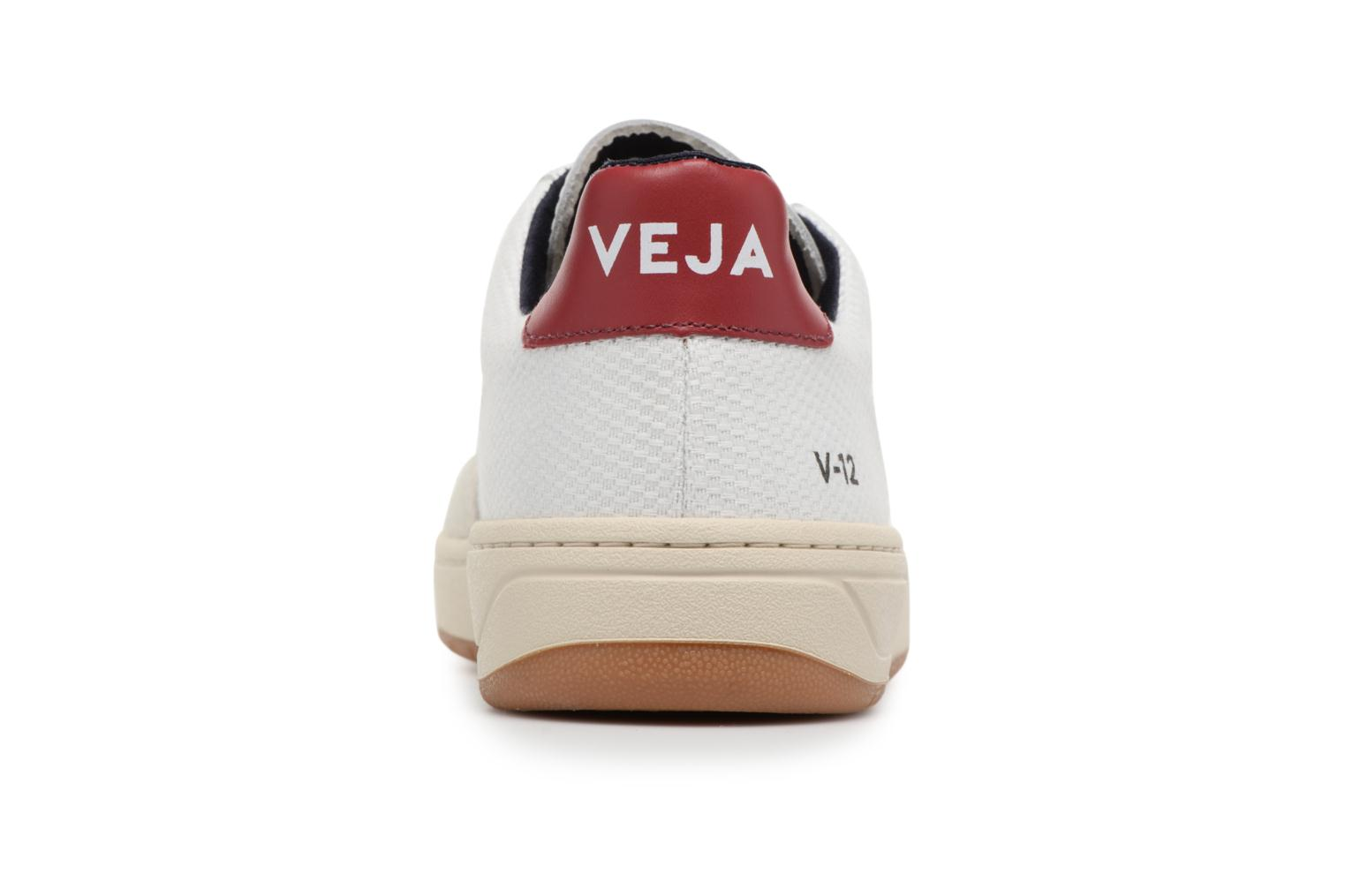 Trainers Veja V-12 W Beige view from the right