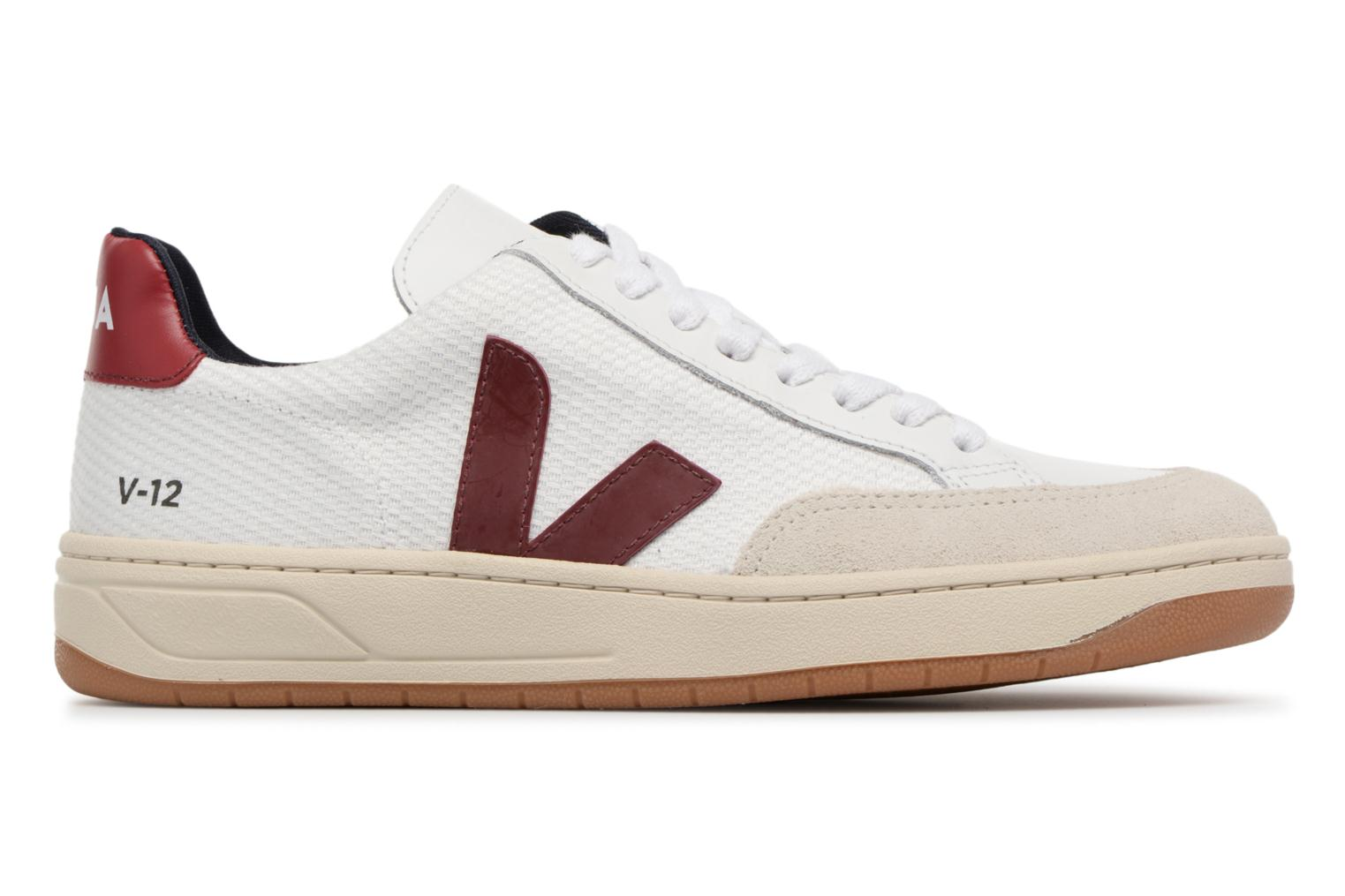 Trainers Veja V-12 W Beige back view