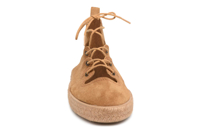 Espadrilles Smile Smile Joy week Marron vue portées chaussures