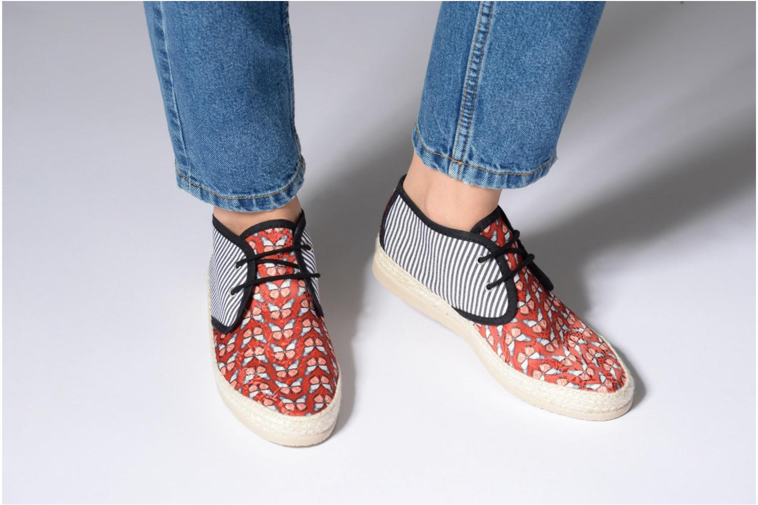 Espadrilles Smile Smile fly Red view from underneath / model view