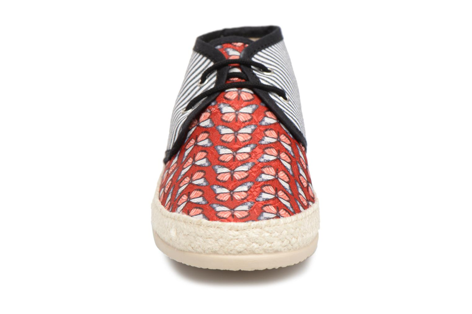 Espadrilles Smile Smile fly Red model view
