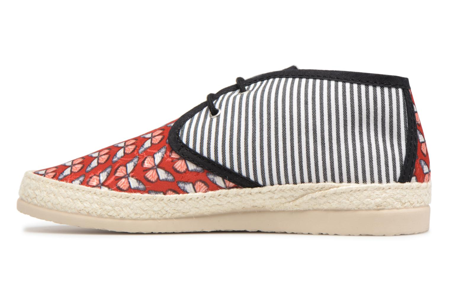 Espadrilles Smile Smile fly Red front view