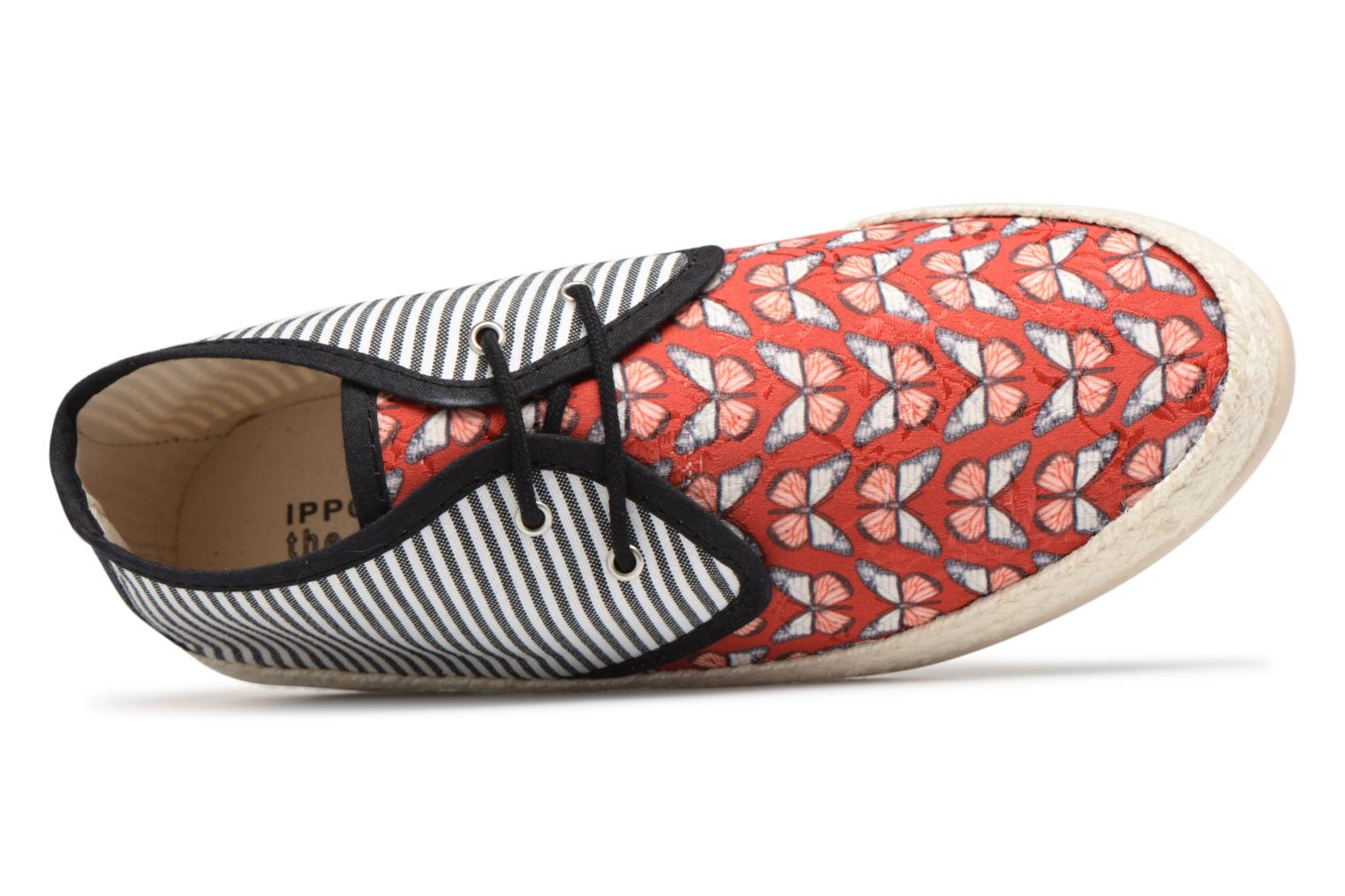 Espadrilles Smile Smile fly Red view from the left