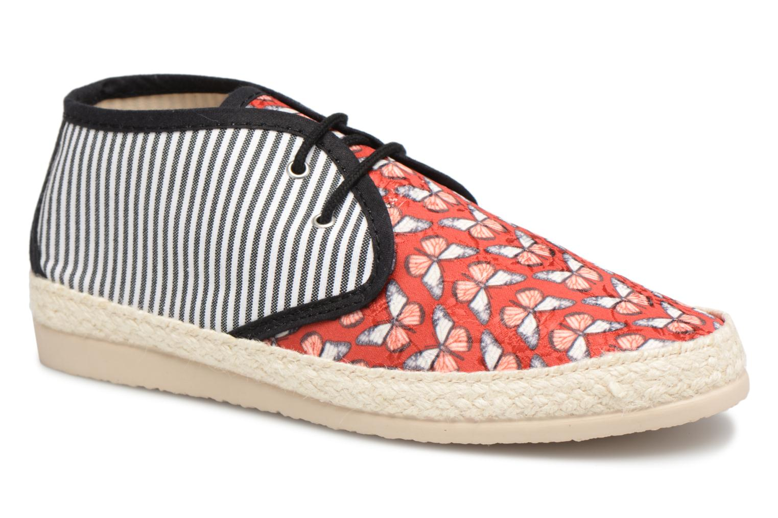 Espadrilles Smile Smile fly Red detailed view/ Pair view